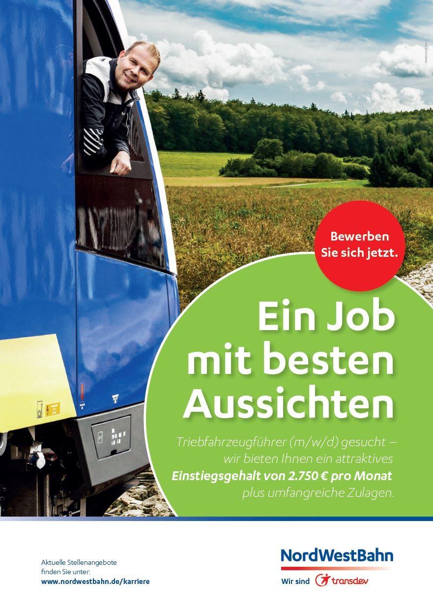 Nordwestbahn Karriere